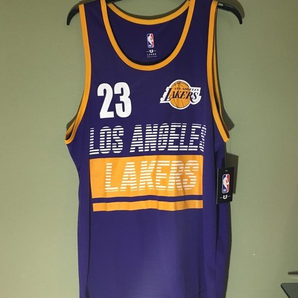 best website 1fdc3 85b5f NWT LeBron James Jersey Size Large NWT